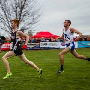 Anderson (left) is the favorite in the boys' race.