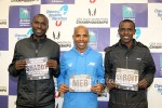 Shadrack Biwott, Meb, and