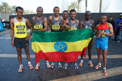 Ethiopia is always well-represented in Dubai