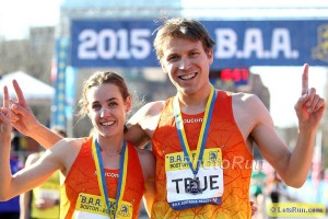 Ben True and Molly Huddle After American Records