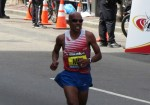 Keflezighi became the first American man to win Boston in 31 years last year.