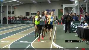 Richard Jones leads at 400