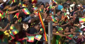 The Ethiopian fans and runners love Dubai