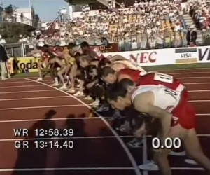Start Commonwealth Games 5000m 1990