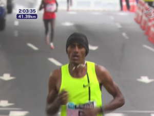 Negesse pulling away from Chuma