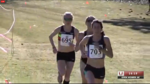 Laura Thweatt (front), Neely Spence (r) and Sara Hall up front