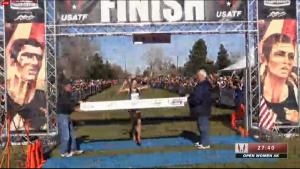 Laura Thweatt wins