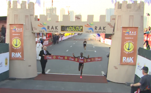 Mary Keitany Wins 2015 RAK Half Marathon