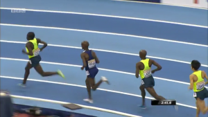 Some, including Lagat, tried to stay with Farhah for a mile plus