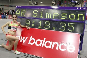9:18.35 American 2 Mile Record for Simpson