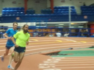 Will Leer and Nick Willis Do a Post-Race Workout