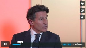 Seb Coe Makes His Case for IAAF Presidency