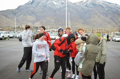 The SUU cross country squads made it to the Team DomiNATE 5k on November 15