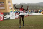 On top of the world: Kamworor put on a show in Guiyang earlier this year