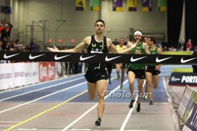 Centro cruised to a win at USA indoors in 2015
