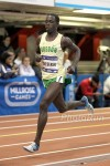Cheserek broke 4:00 for the first time at Millrose last year