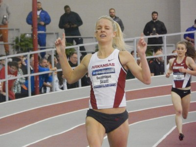 Scott won her first NCAA individual title in March
