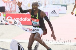 The Finishing Tape was the only thing Farah had trouble with