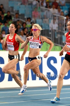 Meadows, shown here at the 2011 World Championships, has been the world's best at 800 in 2015