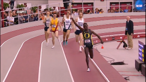 King Cheserek celebrates early