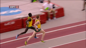 Is Cheserek letting up?