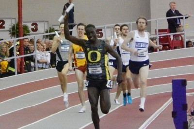 Cheserek anchored Oregon to the win last year, but running the DMR this year would be an unnecessary risk