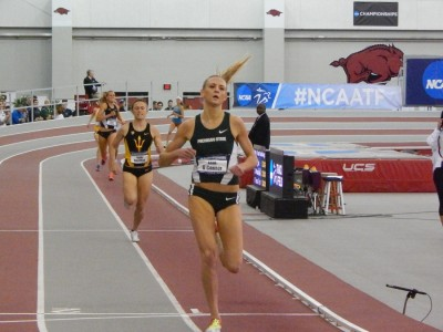 Leah O'Connor at NCAA indoors