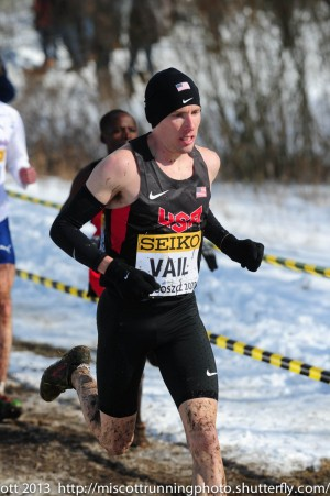 Vail is no stranger to World XC; this will be his fifth appearance in the meet