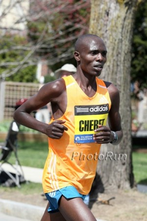 Chebet was the runner-up last year