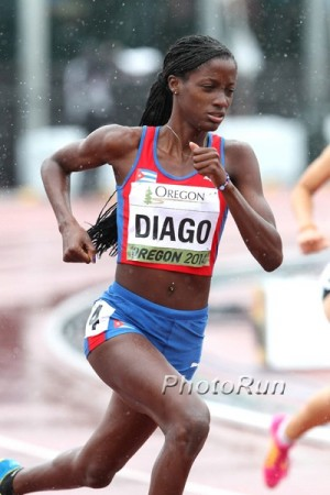 Cuba's Diago ran 1:57.74 last year and took silver at World Juniors