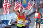 Huddle set the U.S. road record for 5k in April in Boston