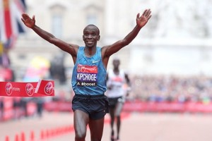 Kipchoge, who won in London last year, is the world's greatest marathoner right now