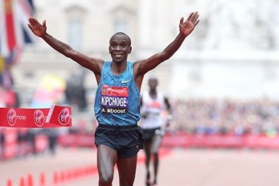 Kipchoge's win in London last year established him as the world's top marathoner