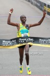 Koech ran a blazing 58:41 in San Diego two years ago