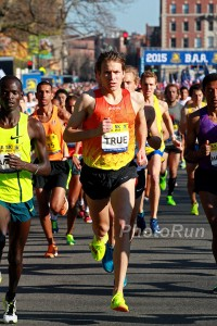 Ben True on his way to the 13:22 American Record