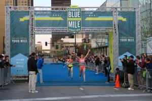Heather Kampf wins. Photo by Jolene Jungling.