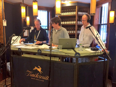Toni Reavis, Robert Johnson and Jonathan Gault in 2015