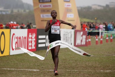 Tirop has already had success in China this year, winning World XC in March