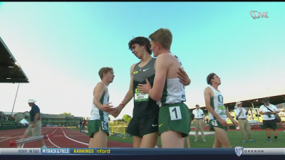Jenkins congratulated Maton after the race