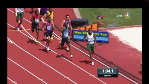 800 Final 100m