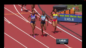 Sum and Wilson Battled the Final 100m