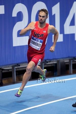 2014 World Indoors: Symmonds' last major race