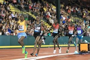 Paul Tanui Leads Farah and Kamworor