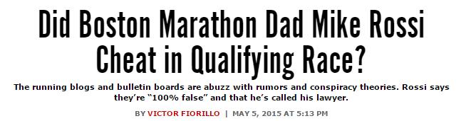 Philly.com's headline on Rossi
