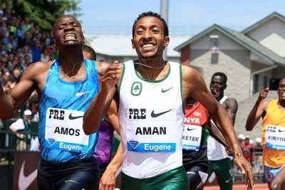 Aman won the Pre Classic on his new home track on May 30