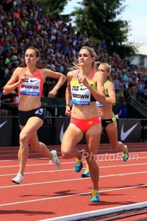 Efraimson, Brown and Mackey will all vie for a spot on Team USA in Eugene