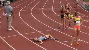 Nicole Tully post-race