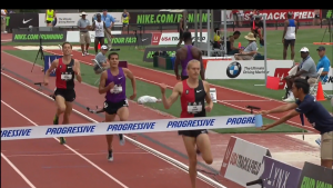 Evan Jager wins