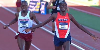 Rotich and Kebenei duelled at NCAAs last year
