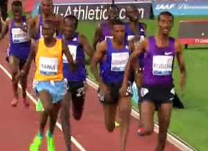 Tanui Tried to Stay Close